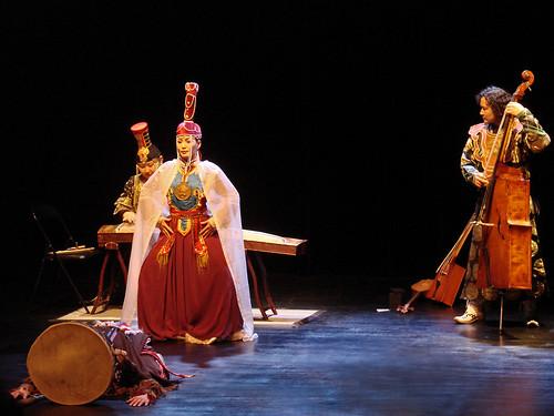 La troupe Boerte de Mongolie (musée Guimet)