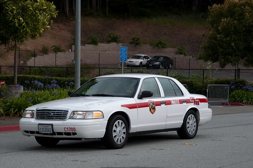Cal Fire Crown Vic Parade