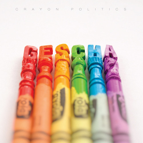 Gescha - Crayon Politics Album Cover