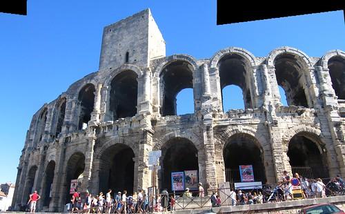 Amphitheatre at Arles