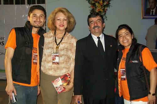 Bandolitis con la Dr Clemencia y el maestro Pedro Nel Martinez