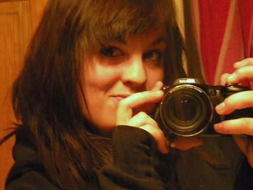 self portrait... :(