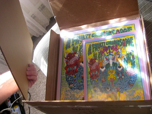 The brand-new A Faulty Chromosome LP and Comic! :)