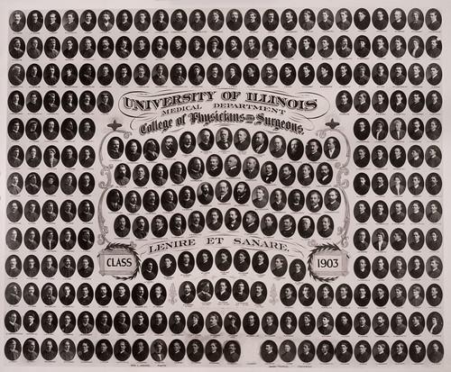 1903 graduating class, University of Illinois College of Medicine