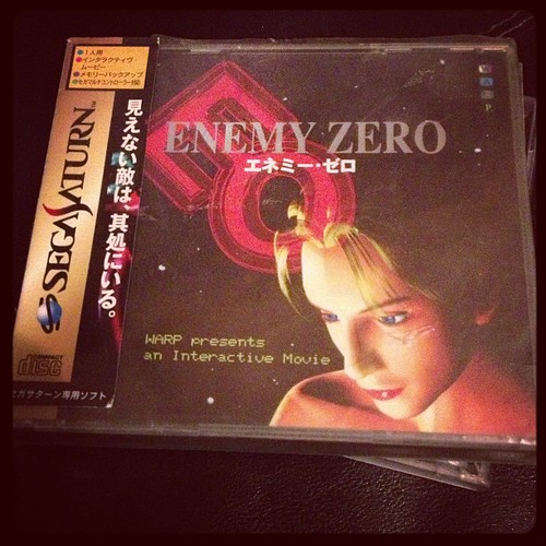 Bought my first Kenji Eno game. All I need now is a Saturn. #retrogaming