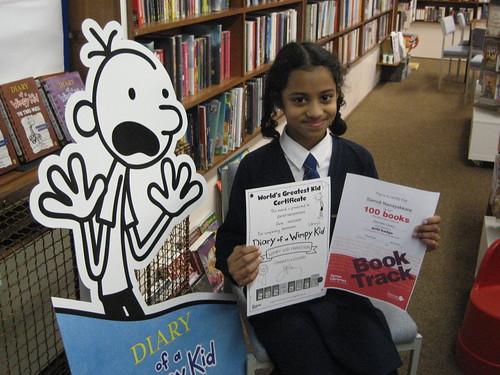 Samidi receives Booktrack Gold Award at Axminster Library