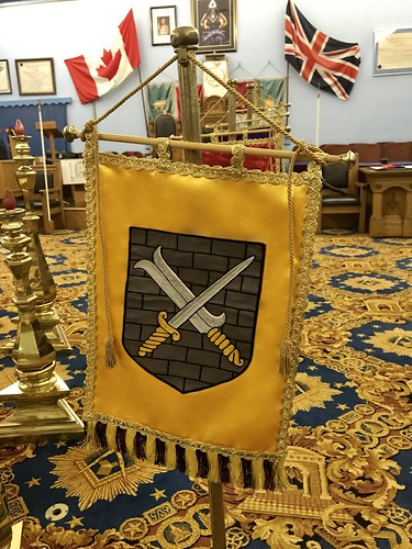 A Regular Convocation of The St. Patrick Chapter No. 145 G.R.C. at the Newmarket Masonic Temple
