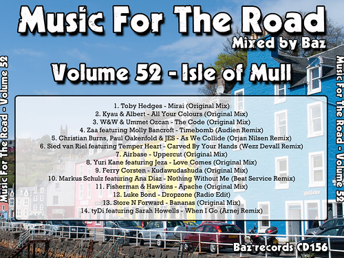 2013-04 (Music For The Road Volume 52 - Isle Of Mull) - Rear Cover