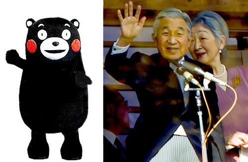 The Symbol of Kumamoto and the Symbol of Japan