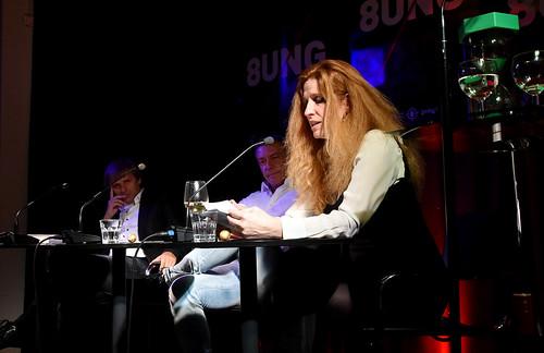 Beim Krimifest 2016: Ursula Poznanski
