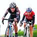 Gabriella Nordin ( Pedal Power ) and Peggy Seriès ( ERC )