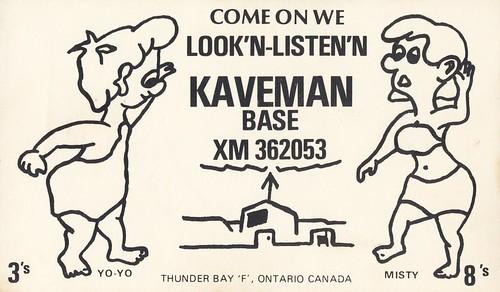 Yo-Yo & Misty at Kaveman Base - Thunder Bay, Ontario