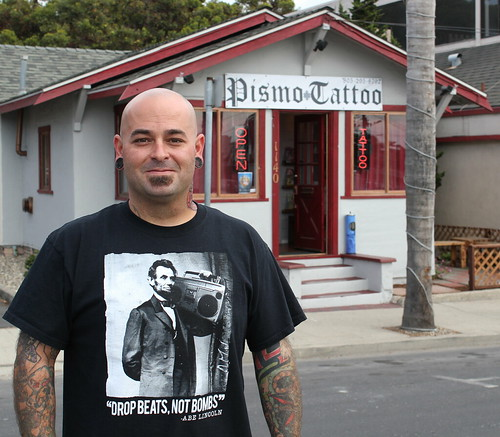 Drop Beats, Not Bombs at Pismo Tattoo