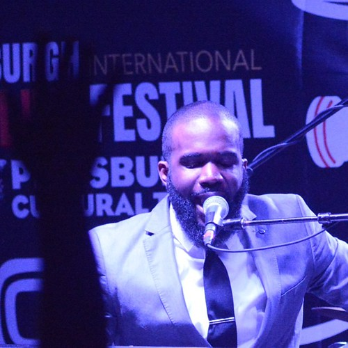 First evening of Pittsburgh JazzLive Int'l Festival 2015: Aaron Abernathy & Nat Turner Band