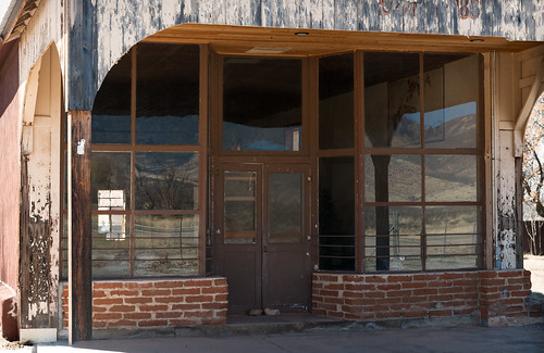 Bonita Store (1898), view06, Hwy 266, Bonita, Arizona, USA