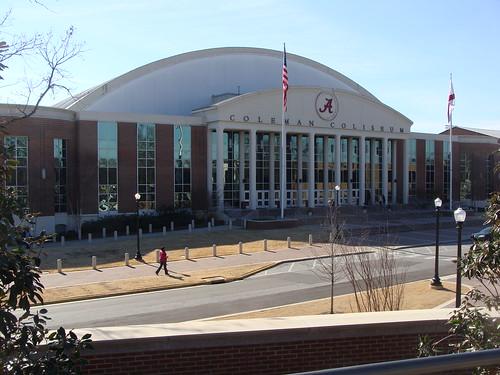 Coleman Coliseum---Tuscaloosa, Al.