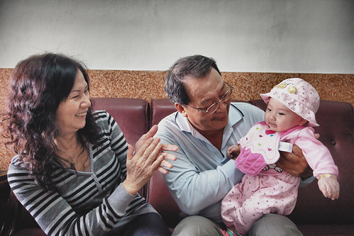 [people] father, mother & Luna