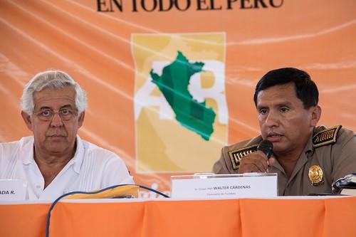 Coronel PNP Walter Cárdenas - Jefe de la XVIII Diterpol Tumbes