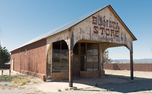 Bonita Store (1898), view04, Hwy 266, Bonita, Arizona, USA