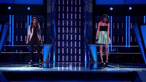 Christina Grimmie vs. Sam Behymer- -Counting Stars- (The Voice Highlight)