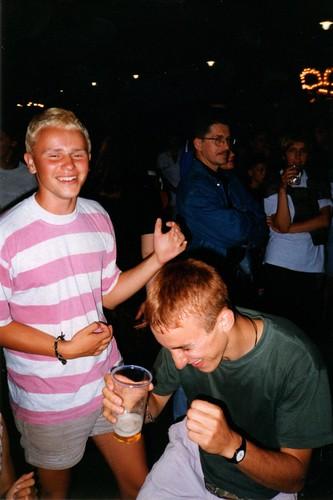 Gdansk 1997: karate disco!