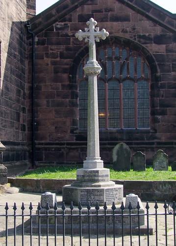 Weaverham War Memorial, Cheshire