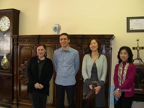 Visita delegació japonesa Rikkyo University.