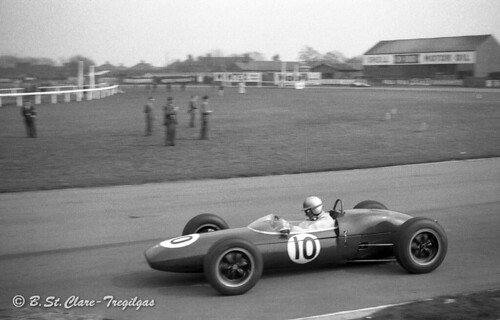 Jack Brabham, Lotus 21 Climax, 1962 Aintree 200, Liverpool