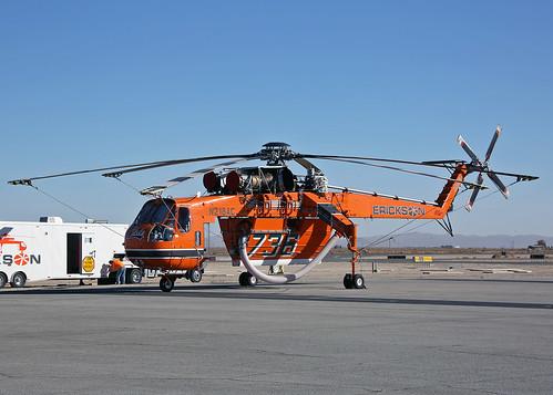 N218AC Sikorsky S-64E Skycrane Erickson Air Crane