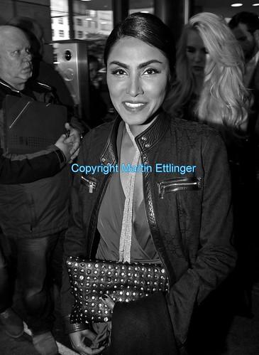 Sabrina Setlur  leaving Hilton Hotel in Berlin 21062014 (1)