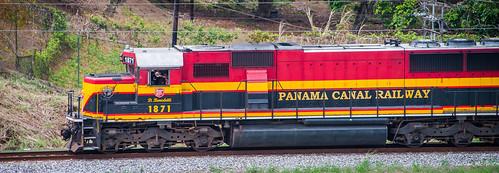 2014 - Panama Canal Transit - Canal Railway