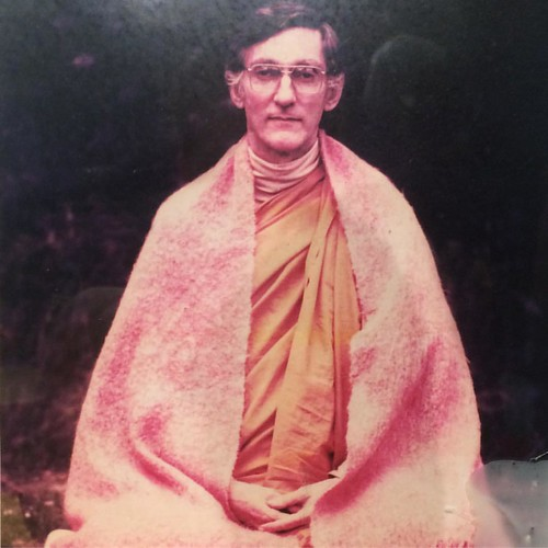 Sangharakshita's picture on the shrine at the 2016 International Convention. +follow www.thebuddhistcentre.com/features #Triratna #community #sangha #Dharma #Buddhism #Buddhist #sangharakshita