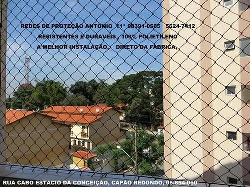 Rua Cabo Estacio da Conceição, Redes de Proteção no Capão Redondo, 05.854-060.