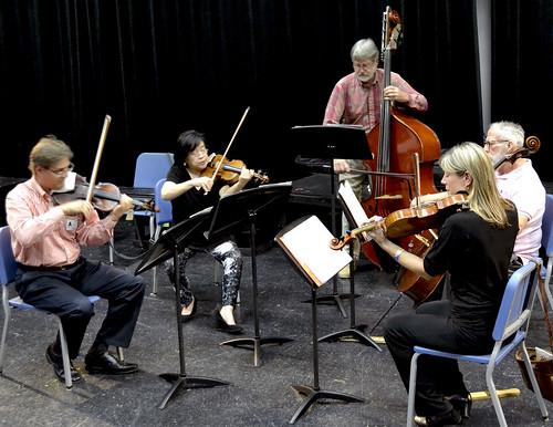 Dallas Symphony String Quartet comes to visit!