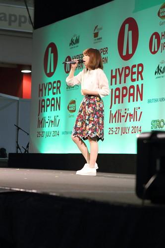 Nagi Yanagi at Hyper Japan
