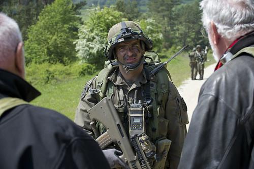 Austrian Soldiers develop skills during CR-II