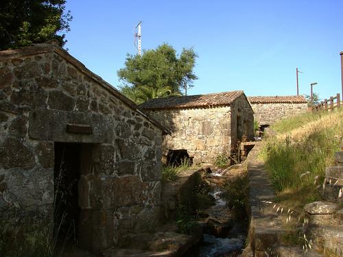 Muíños de Batán en Mamoela