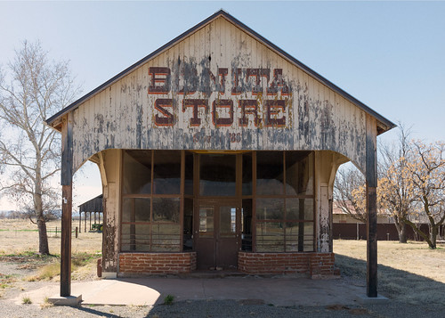Bonita Store (1898), view03, Hwy 266, Bonita, Arizona, USA