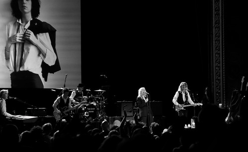 63+465: Patti Smith in concert, Sydney, 09/04/17
