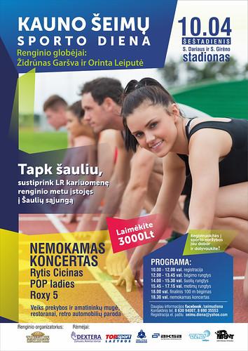 Kauno šeimų sporto šventė