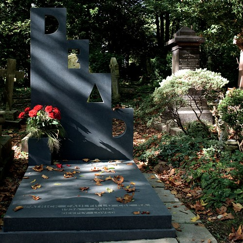 The Grave of Patrick Caulfield in the East Cemetery