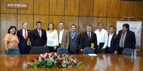 Comisión de Amistad Paraguay - Japón - 8 Octubre 2014