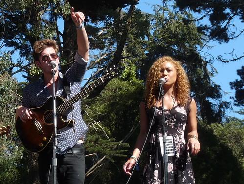 Sam Palladio and Chaley Rose
