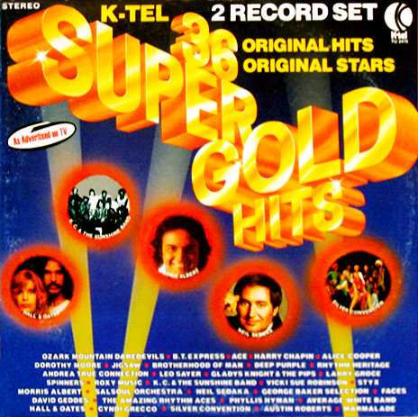 36 Super Gold Hits (K-Tel, 1976)