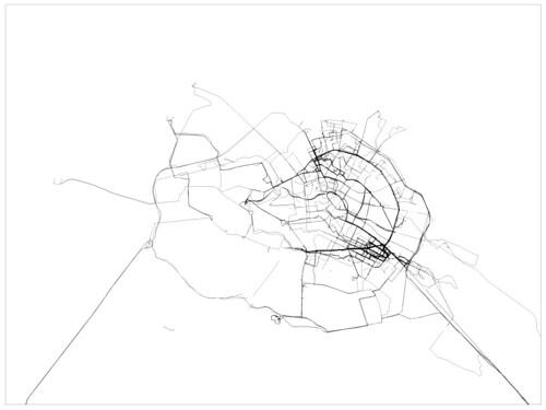 Screenshot of plan b GPS tracking in Berlin