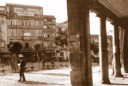 Zocodover, principios del siglo XX