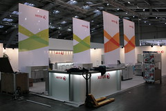 Pre-CeBIT: Xerox Booth (One of Many?)