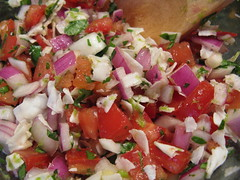 Coconut Pico de Gallo