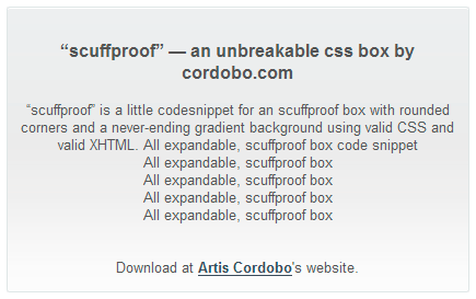 scuffproof box