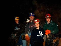 Peiper Cave with Crew 7 3-29-08 003